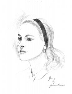 Image of Jane S., sketch